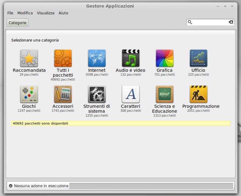 Gestore Software di Linux