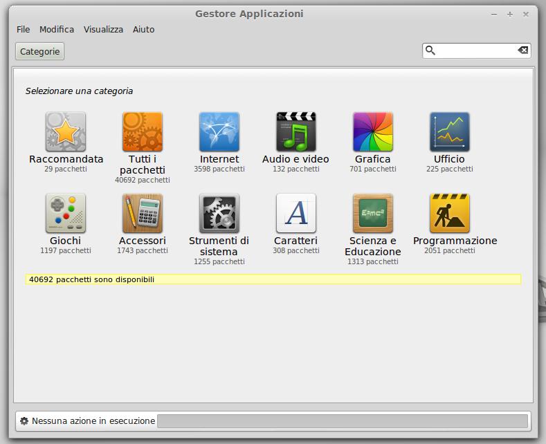 Gestore Software di Linux
