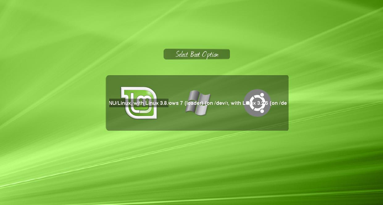 Personalizzare l'interfaccia grafica del proprio boot loader (GRUB2 & BURG)