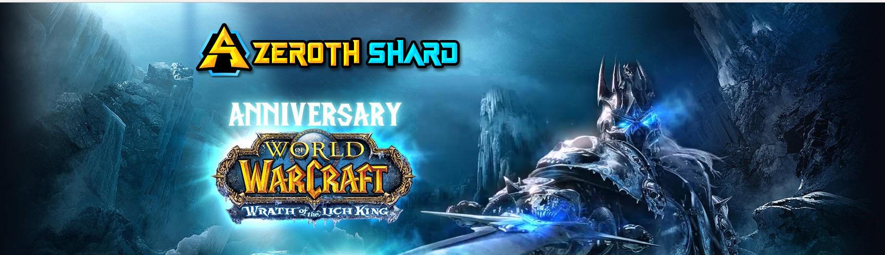 AzerothShard festeggia l'anniversario